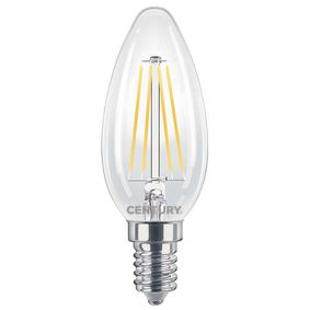 LED Vintage Filament Lamp Candle E14 6 W 806 lm 2700 K
