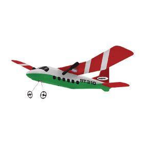 R/C Letadlo ST310 RTF 2,4GHz Ovladaè Èervená