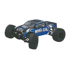R/C 4WD Whelon RTR / 4�4 / S Kuli�kov�m Lo�iskem / Vodot�sn� 2,4GHz Ovlada� 1 12 Modr�