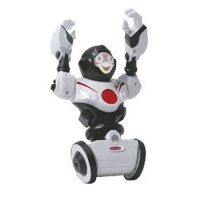 R/C Robot Robibot 2 6 Kanál RTR / Nahrávání zvuku / Se Svìtly Bílá
