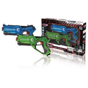 Sada Laser Battle Modrá/Zelená
