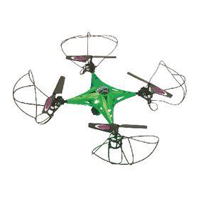 R/C Dron CamAlu 4 5 Kan�l RTF / Foto / Video / Gyro Uvnit� / Se Sv�tly / Ot��en� o 360 / FPV 2,4GHz Ovlada� Zelen�