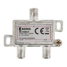 CATV Rozbo�ova� 4.2 dB / 5-1218 MHz - 2 V�stupy