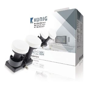 LNB Single Monoblok 6.0� 1.1 dB