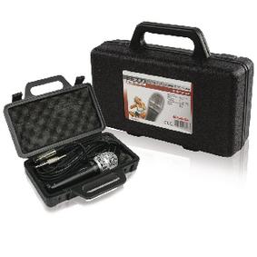 Dr�tov� Mikrofon 6.35 mm �ern�/�ed�