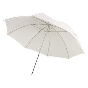 """Deštník pro Foto Studio 33 """" Prùsvitná Bílá"""