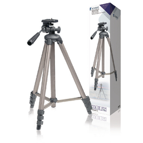 Fotoaparát / Kamera Stativ Náklon & Natoèení 130 cm Èerná/Støíbrná