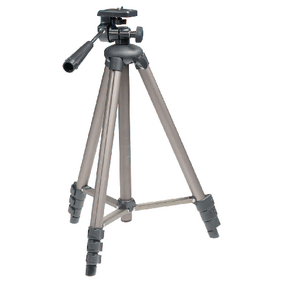 Fotoapar�t / Kamera Stativ N�klon & Nato�en� 130 cm �ern�/St��brn�