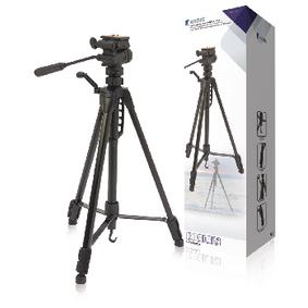 Fotoaparát / Kamera Stativ Náklon & Natoèení 160 cm Èerná