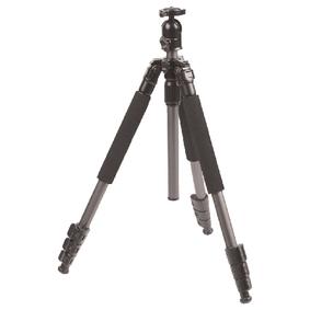 Fotoapar�t / Kamera Stativ Kulov� Hlava 131.50 cm �ern�