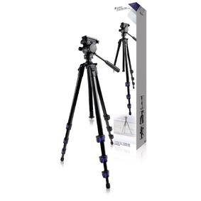 Premium Fotoaparát / Kamera Stativ Náklon & Natoèení 161 cm Èerná
