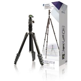 Profesionální Fotoaparát / Kamera Stativ Kulová Hlava 137 cm Èerná