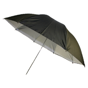 """Deštník pro Foto Studio 36 """" Èerná/Bílá"""