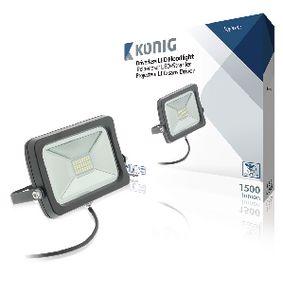 LED Reflektory bez Budi�e 20 W 1500 lm �ern�