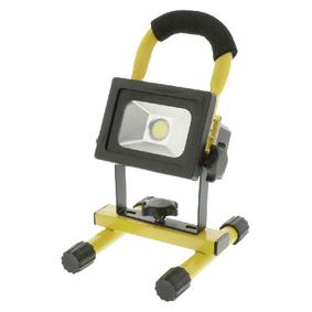 Mobiln� LED Reflektor 10 W 700 lm �ern� / �lut�