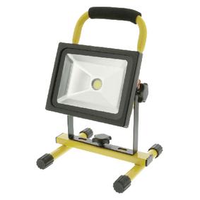 Mobiln� LED Reflektor 20 W 1400 lm �ern� / �lut�
