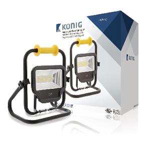 Mobiln� LED Reflektor 50 W 4000 lm �ern�