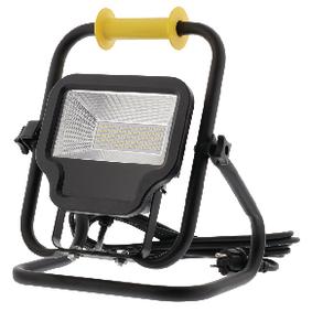 Mobilní LED Reflektor 50 W 4000 lm Èerná