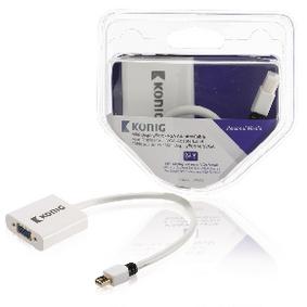 Kabel Mini DisplayPort Mini DisplayPort Zástrèka - VGA Zásuvka 0.20 m Bílá - zvìtšit obrázek