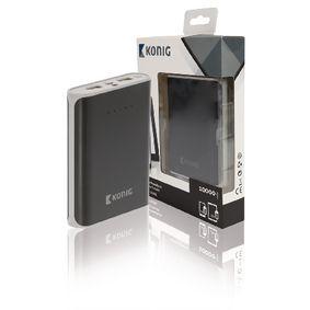 Pøenosná Powerbanka Lithium-Ion 10000 mAh USB Èerná