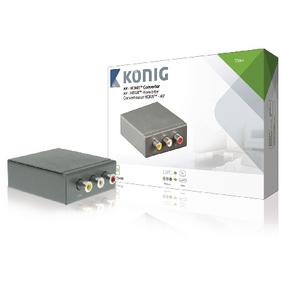 HDMI Pøevodník 3x RCA Zásuvka - HDMI Výstup