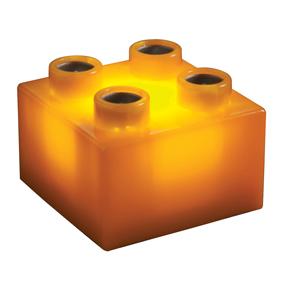 Light Stax Roz�i�uj�c� Sada Puzzle Oran�ov�