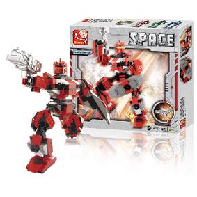 Stavebnicové Kostky Space Serie Robot Hepaestus