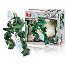 Stavebnicové Kostky Space Serie Robot Ares