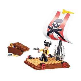 Stavebnicov� Kostky Pirate Serie Pir�tsk� Vor