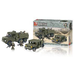 Stavebnicové Kostky Army Serie Army Ranger