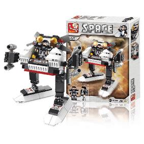 Stavebnicové Kostky Space Serie Vesmír 3 v 1 A