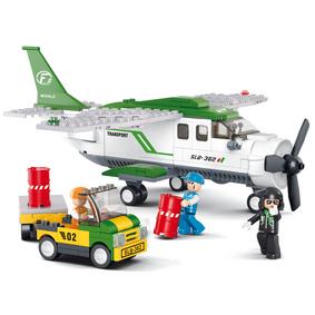 Stavebnicové Kostky Aviation Serie Nákladní Letadlo