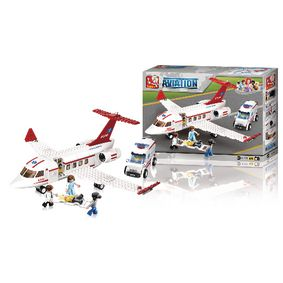 Stavebnicové Kostky Aviation Zdravotní Záchrannou