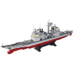 Stavebnicové Kostky Aircraft Carrier Serie Køižník