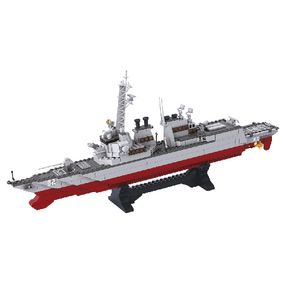 Stavebnicové Kostky Aircraft Carrier Serie Torpédoborec