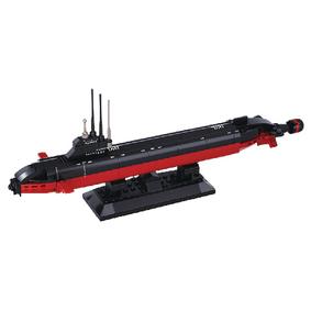 Stavebnicové Kostky Aircraft Carrier Serie Jaderná Ponorka