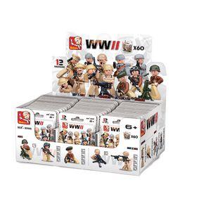 Stavebnicov� Kostky WWII Serie Postavi�ky