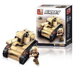 Stavebnicové Kostky Army Serie Tank