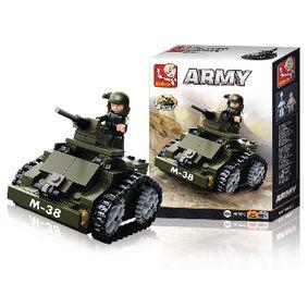 Stavebnicové Kostky Army Serie Obrnìné Vozidlo