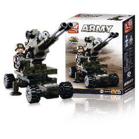 Stavebnicové Kostky Army Serie Artilérie