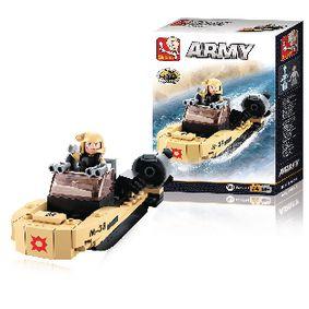 Stavebnicové Kostky Army Serie Útoèná Loï