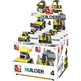 Stavebnicov� Kostky Builder Construction