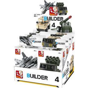Stavebnicové Kostky Builder Army