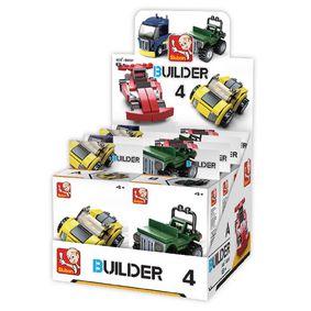 Stavebnicové Kostky Builder Vehicles
