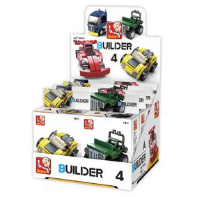 Stavebnicov� Kostky Builder Vehicles