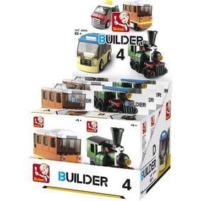 Stavebnicové Kostky Builder Transportation