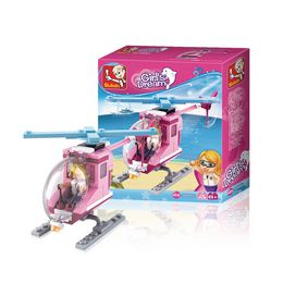 Stavebnicové Kostky Girls Dream Serie Plážový vrtulník
