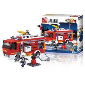 Stavebnicové Kostky Fire Serie Fireconventional Pumper