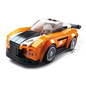 Stavebnicov� Kostky Carclub Series Bobcat