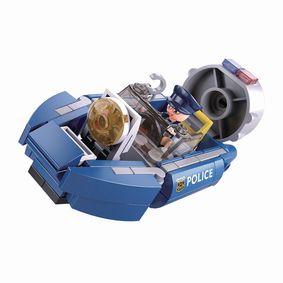 Stavebnicov� Kostky Police Serie Hoovercraft